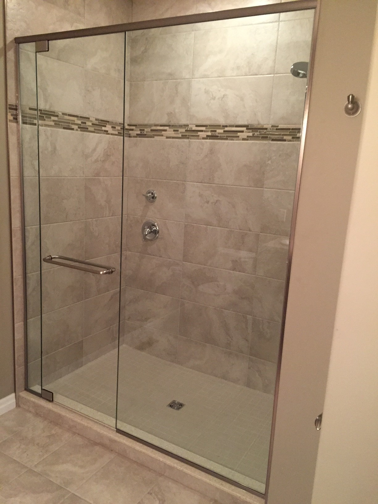 All Glass Shower Trenton Glass And Windows Ltd